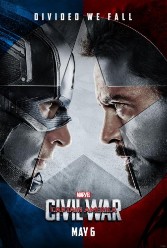 captain america civil war poster oficial marvel studios criticsight 2016