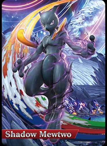 pokken tournament shadow mewtwo  carta amiibo criticsight 2015