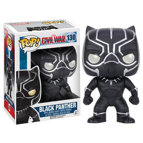 Funko Pop Civil War criticsight imagen  black panther