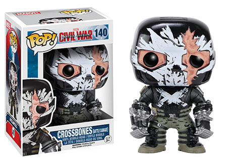 Funko Pop Civil War criticsight imagen crossbones original