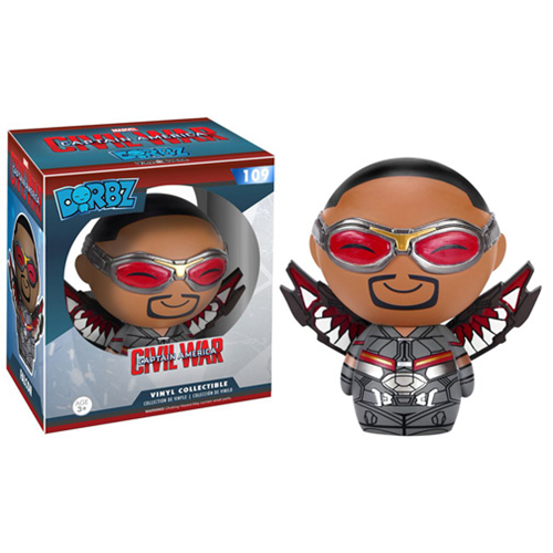Funko Pop Civil War criticsight imagen dirbs falcon