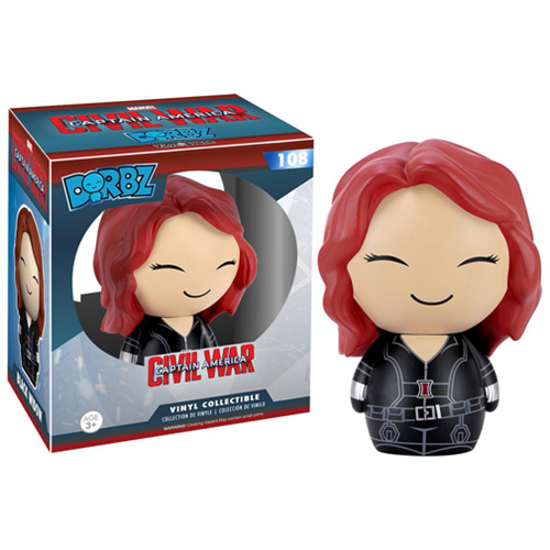 Funko Pop Civil War criticsight imagen dorbs black widow