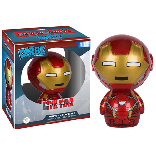 Funko Pop Civil War criticsight imagen  dorbs iron man