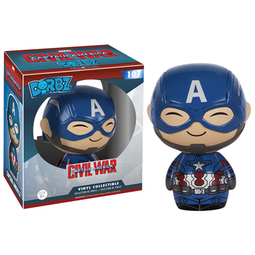 Funko Pop Civil War criticsight imagen  dorbz capitan america