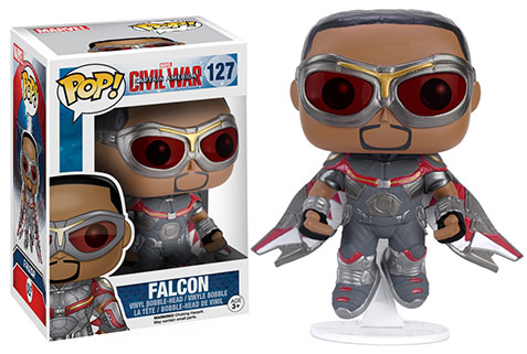 Funko Pop Civil War criticsight imagen falcon