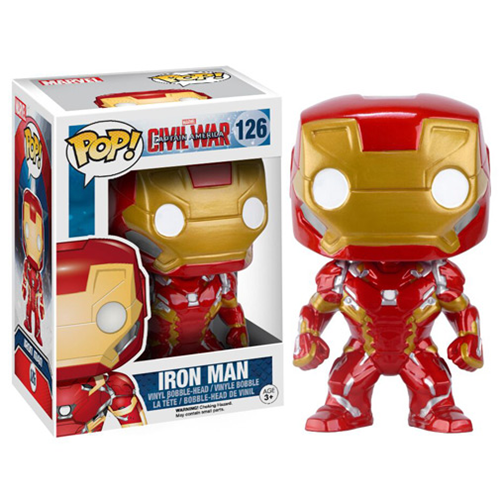 Funko Pop Civil War criticsight imagen iron man