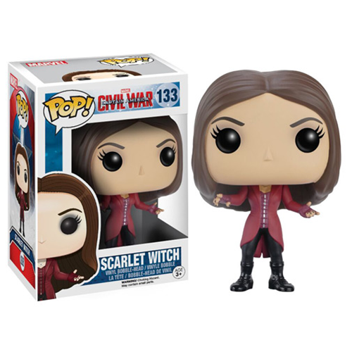Funko Pop Civil War criticsight imagen  scarlet witch
