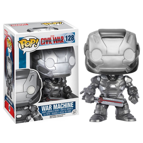 Funko Pop Civil War criticsight imagen war machine