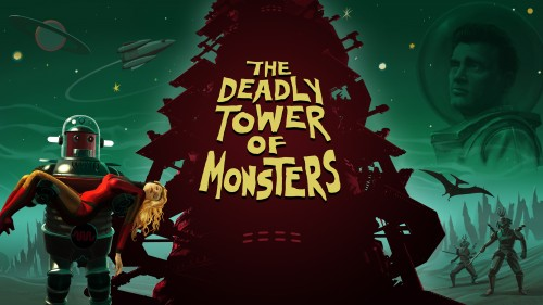 The Deadly Tower of Monsters arte oficial criticsight ATLUS USA 2016