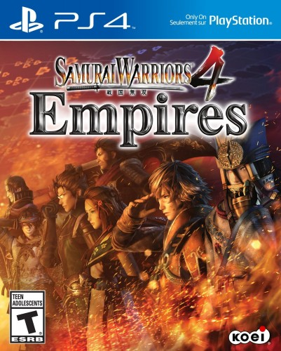 Samurai Warriors 4 Empires disponible en PS4