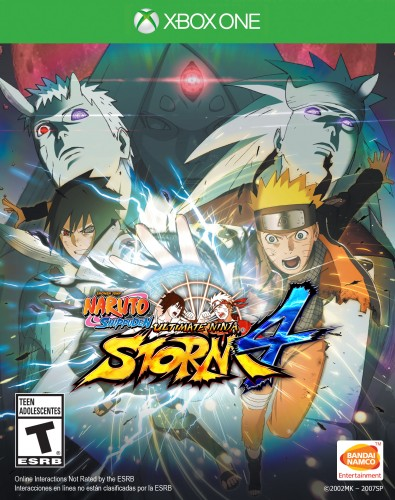 Ya Está Disponible Naruto Shippuden Ultimate Ninja Storm 4 en PC, XBOX One y PS4 (Bandai- Namco 2016) criticsight imagen  portada xbox one