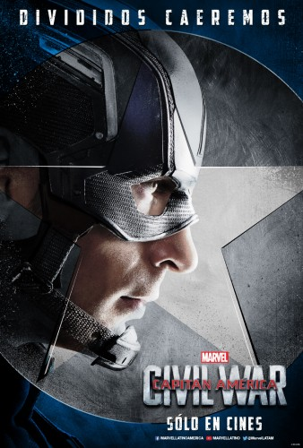 Captain America Civil War team cap equipo criticsight 2016 poster  capitan america
