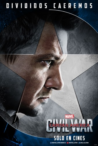 Captain America Civil War team cap equipo criticsight 2016 poster hawkeye