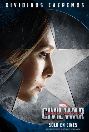 Captain America Civil War team cap equipo criticsight 2016 poster scarlet witch