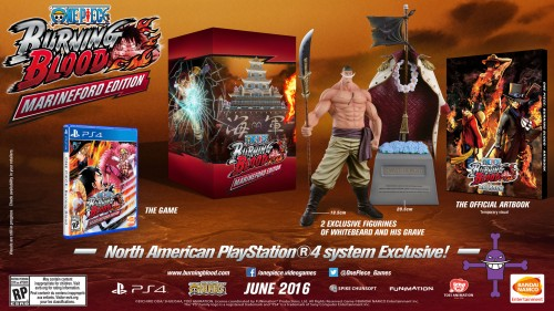 One Piece Burning Blood (Bandai-Namco 2016) criticsight imagen  edicion de coleccion