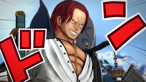 One Piece Burning Blood nuevos personajes bandai namco criticsight 2016 imagen OPBB_Shanks_SS01