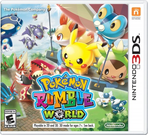Pokemon Rumble World disponible en 3DS  criticsight 2016 portada
