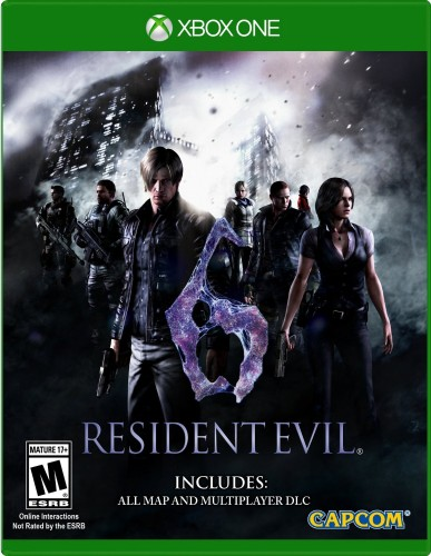 Resident Evil 6 disponible en XBOX One  criticsight portada 2016