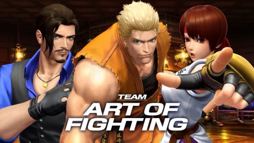 Art of Fighting Team KOF XIV CRITICSIGHT 2016