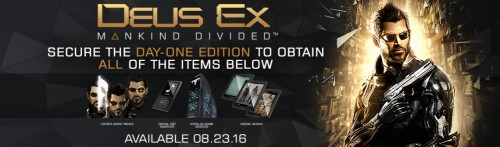 DEUS EX Mankind Divided banner criticsight 2016