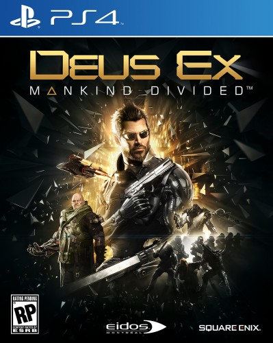 DEUS EX Mankind Divided ps4 cover front hd criticsight 2016