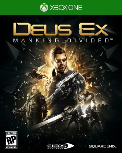 DEUS EX Mankind Divided xbox one cover front portada criticsight 2016