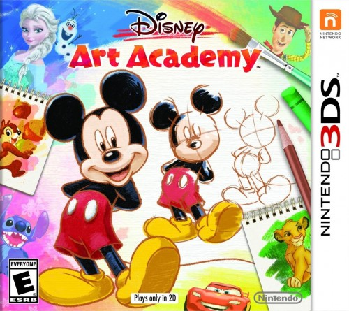 Disney Art Academy disponible en 3DS criticsight