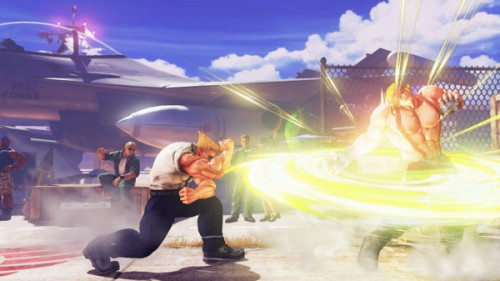 Guile Street Fighter V criticsight imágenes critical art