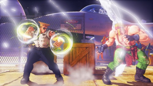 Guile Street Fighter V criticsight imágenes v trigger 1