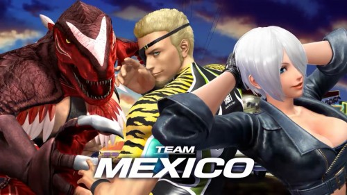 Team Mexico KOF XIV CRITICSIGHT 2016
