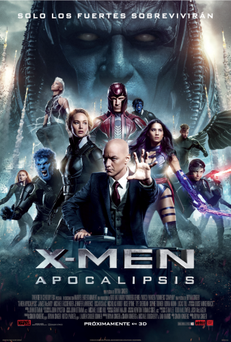 X MEN APOCALIPSIS POSTER LATINO ESPAÑOL MEXICO 2016 CRITICSIGHT