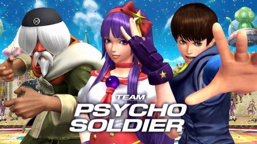 psycho Soldier Team KOF XIV CRITICSIGHT 2016