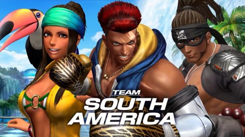 south america team KOF XIV CRITICSIGHT 2016