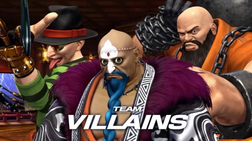villains Team KOF XIV CRITICSIGHT 2016