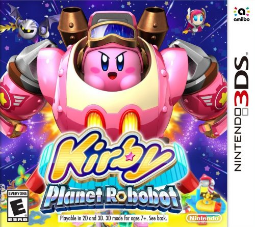 Kirby Planet Robobot disponible en 3DS criticsight 2016
