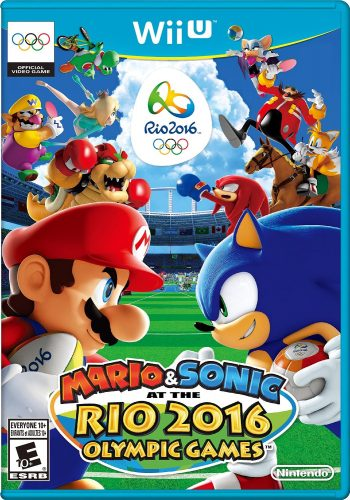 Mario adn Sonic at the Rio 2016 Olympic Games  disponible en WII U