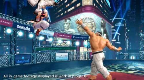 Nuevas Imágenes de The King of Fighters XIV (SNK ATLUS USA 2016) criticsight 10