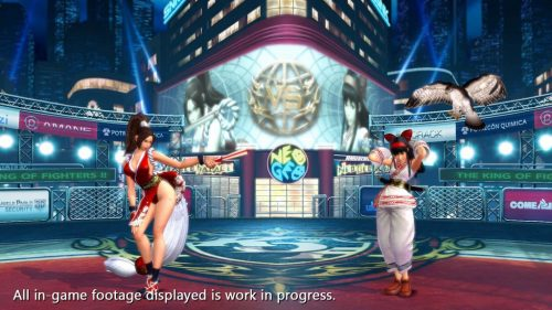 Nuevas Imágenes de The King of Fighters XIV (SNK ATLUS USA 2016) criticsight 6