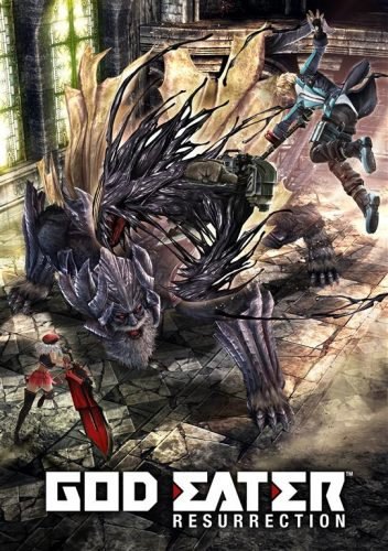 God Eater Resurrection 2016 Criticsight imágenes arte poster (Large)