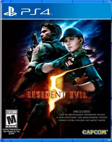 Resident Evil 5 disponible en PS4 y XBOX One portada criticsight