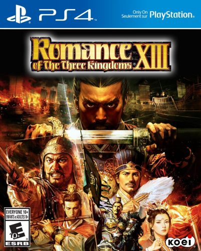 Romance of the Three Kingdoms XIII disponible en PS4 portada criticsight