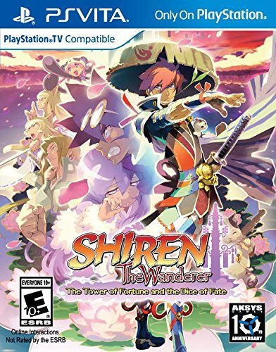 Shiren the Wanderer The Tower of Fortune and the Dice of Fate disponible en PS VITA portada criticsight