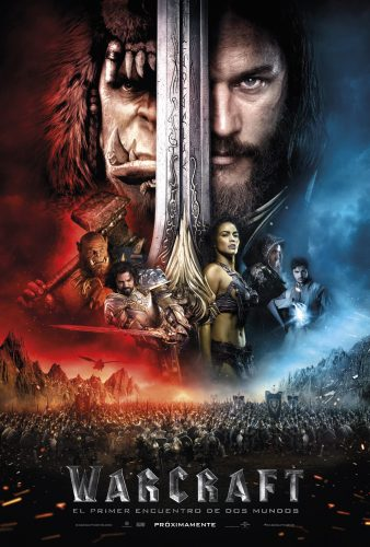 Warcraft poster oficial final mexico latino español 2016 criticsight