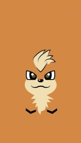 58-Growlithe fondo para celular pokemon criticight 2016