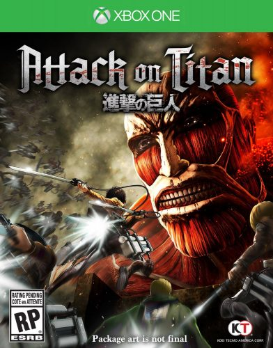 Attack on Titan disponible en XBOX One y PS4 portada criticsight 2016