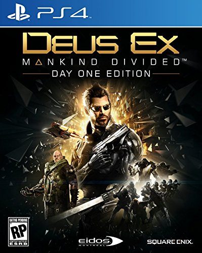 Deus Ex Mankind Divided disponible en PS4, XBOX One y PC portada criticsight