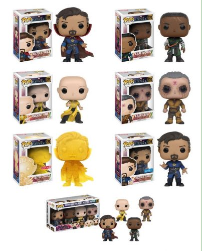 Figuras Funko Pop! de Doctor Strange (2016) criticsight imagen exclusivos y packs