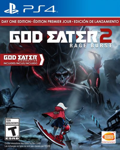 God Eater 2 Rage Burst disponible en PS4 portada criticsight