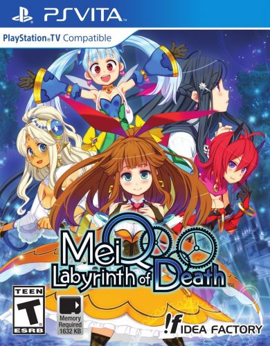 Meiq Labyrinth of Death disponible solo en PS VITA portada criticsight