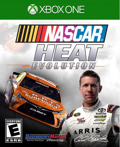 NASCAR Heat Evolution disponible en XBOX One y PS4 portada criticsight